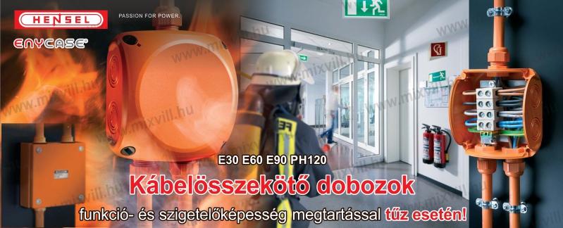 Hensel H-FK tűzálló kötődobozok