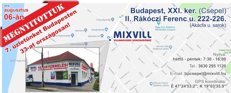 Mixvill Csepel