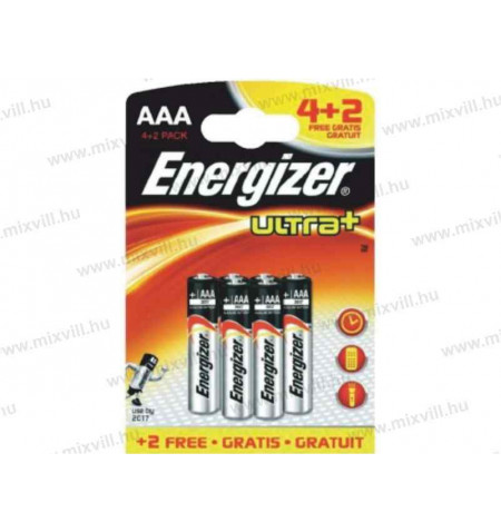 energizer_ultra+_plus_1,5V_mikroceruza_elem_AAA_4+2