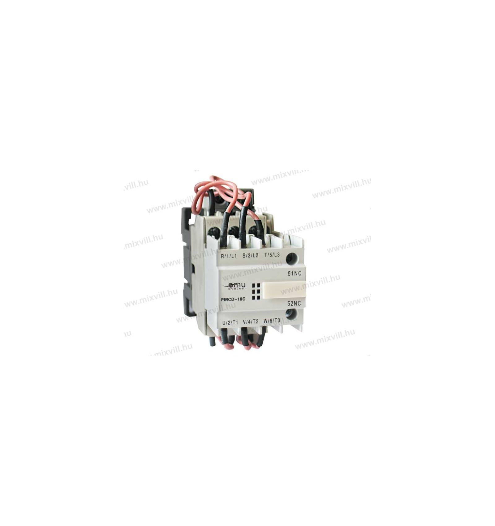 OMU System PMCD-85/230V Capacitor AC contactor 60 Kvar 400V on