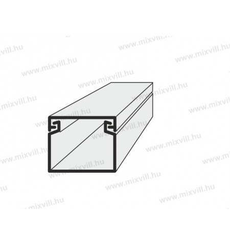 EIP_25x20mm_Mini_muanyag_kabelcsatorna_kep1