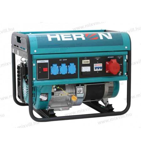 HERON_benzines_aramfejleszto_6kVA_haromfazisu_8896112_EGM-60_AVR-3_kep1