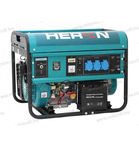 Benzinmotoros_aramfejleszto_1_Fazisu_heron_EGM-55AVR_oninditos_heron_aramfejleszto