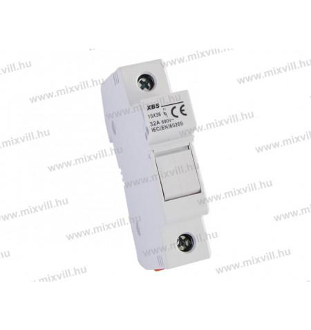XBS-10x38-biztosito-aljzat-1P-Zart