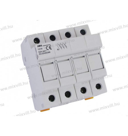 XBS-10x38-biztosito-aljzat-3P+N-Zart