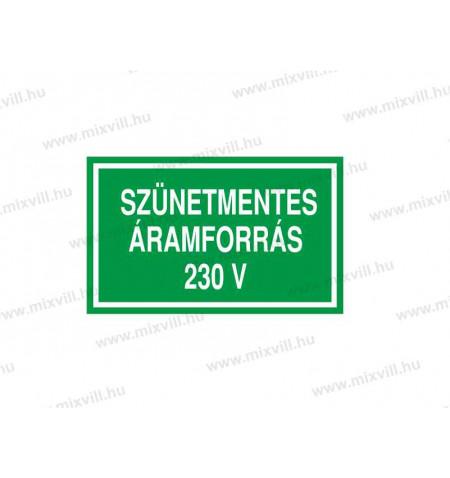 ERV050001_Szunetmentes_aramforras_230V_kep1