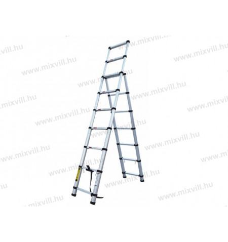 ALT4-2x2,6m_Ketreszes_csuklos_aluminium_teleszkopos_letra_kep1