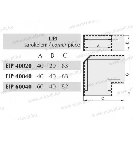 EIP_UP_sarokelem_standard_kabelcsatorna_idom1