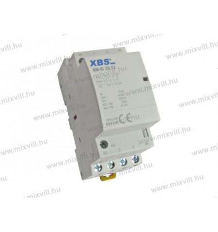 XBS_NM-IS_25-22_Kontaktor_2_zaro_2_nyito_25A_2_modul_230V_AC
