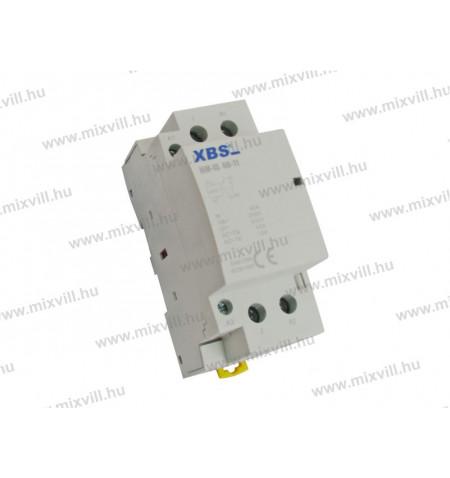XBS_NM-IS_40-11_Kontaktor_1_zaro_1_nyito_25A_2_modul_230V_AC