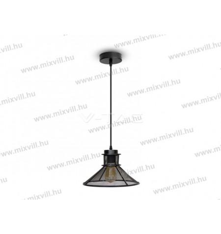 v-tac-sku-3860--e27-led-fuggesztek-fekete-lampa