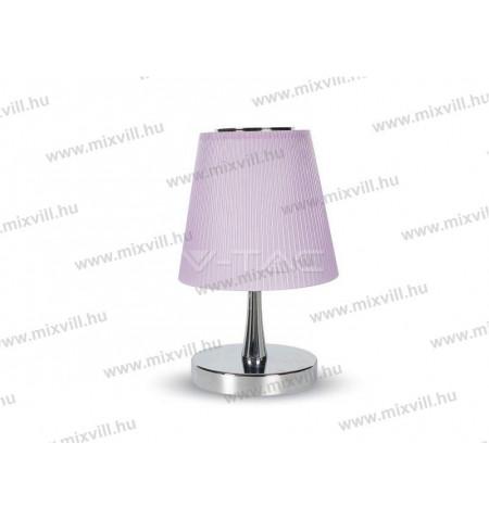 V-TAC_8501_Led_asztali_lampa_300lm_5W_lila_erintodimmer_ejjeli