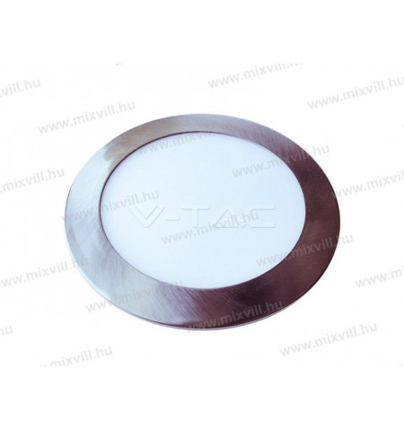 V-TAC_6343_VT-6343_Led_panel_kerek_12W_IP20_3000K_1000lm_tapegyseggel
