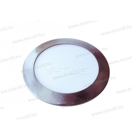 V-TAC_6355_Led_panel_kerek_Matt_Krom_24W_IP20_3000K_2000lm