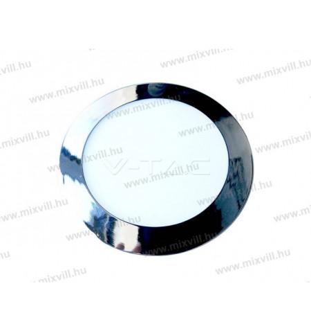 V-TAC_6346_Led_panel_kerek_Krom_18W_IP20_3000K_1500lm_245V