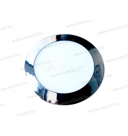 V-TAC_6348_Led_panel_kerek_Krom_18W_IP20_6400K_1500lm_245V
