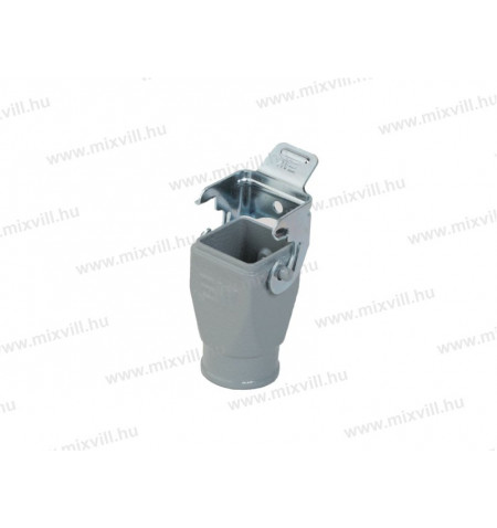 XBS_INC-29015S_nehezcsatlakozo_fedel_aluminium_felso_kivezetes_csattal_4P+5P_M20_tomszelence_uj