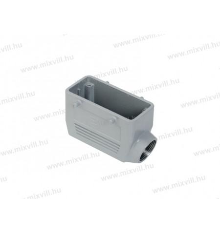 XBS_INC-290432305_nehezcsatlakozo_fedel_aluminium_oldal_kivezetes_16P_M25_tomszelence