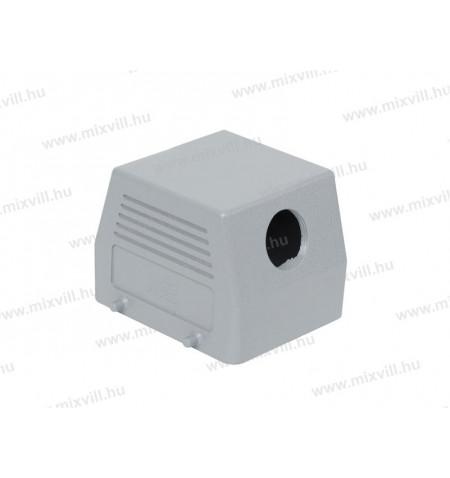 XBS_INC-290612505_nehezcsatlakozo_fedel_aluminium_oldal_kivezetes_32P_M40_tomszelence