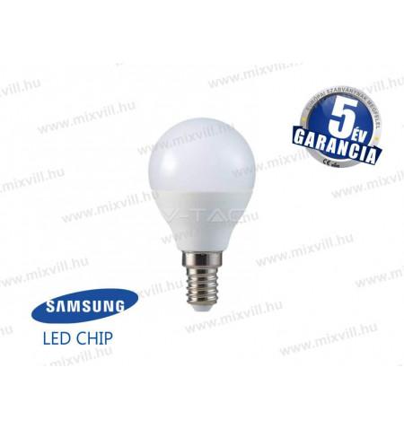V-TAC_168_LED_lampa_E14_gomb_5,5W_3000K_470lm