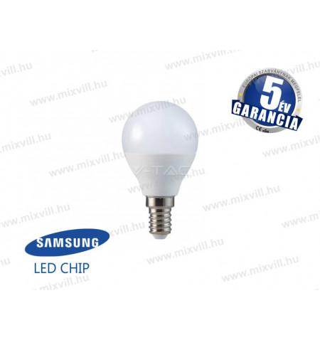 V-TAC_169_LED_lampa_E14_gomb_5,5W_4000K_470lm_Samsung_Chip
