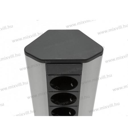 Sarokelosztó_3x250V_16A_alumínium ház_20480_4