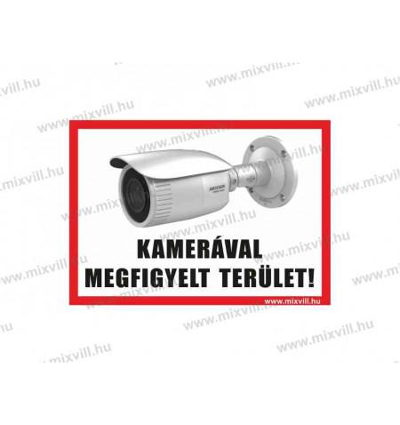 Kameraval_megfigyelt_terulet_tabla_A5