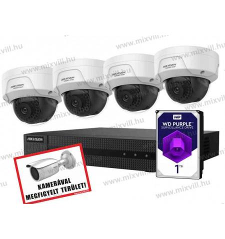 Hikvision-HiWatch-HISET2_biztonsági-kameraszett_kamerarendszer