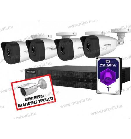 Hikvision-HiWatch-HISET5_Plug_and_play_biztonsági-kameraszett_kamerarendszer
