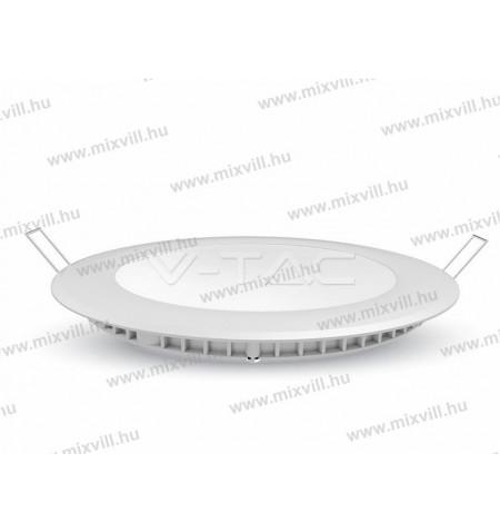 v-tac-sku-6422-kerek-sullyesztett-led-panel-gipszkartonba-22W-