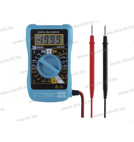 Emos-M0320-digitalis-multimeter-arammero