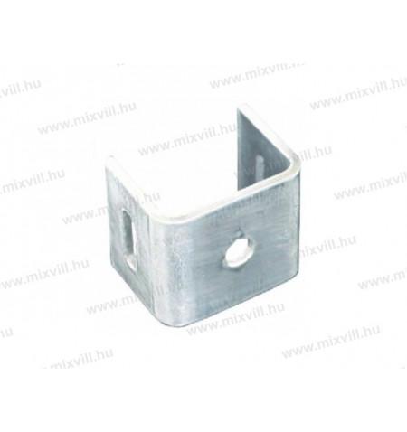 METZ_ET120_egyeneslabu_tarto_aluminium_oszlop_120mm_furat_8.5mm