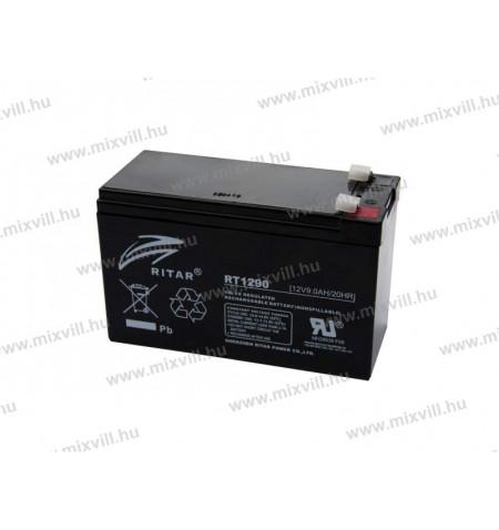 ritar-rt1290D-12v-9Ah-riaszto-akkumulator-akksi