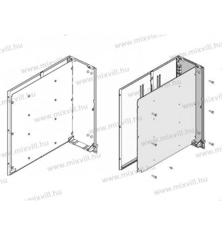 XBS-OT-DIN-PMD-fem-muanyag-szerelolap-DIN-szekrenyhez