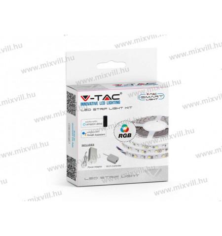 v-tac-sku-2583-RGB-szines-led-szalag-wifi-vezerlovel