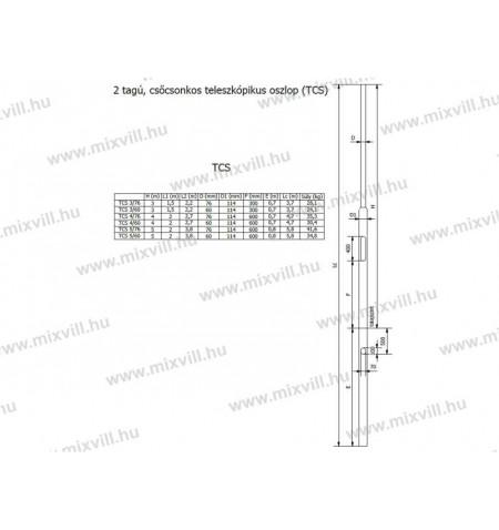 TCS-ket-tagu-csocsonkos-acel-lampaoszlop-villanyoszlop