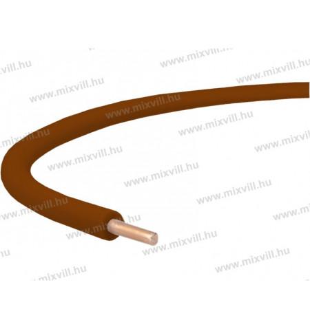 H05V-U-MCU-Tomor_rez_vezetek_kabel-barna