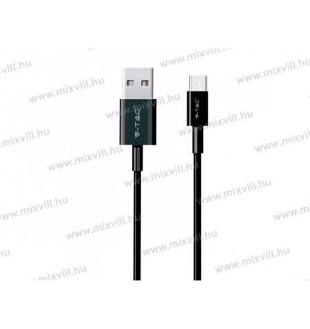 v-tac-sku-8483-fekete-usb-c-tipus-1m-1a-kabel-tolto