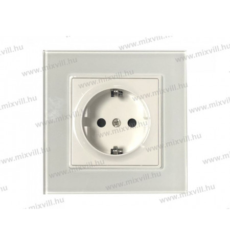 v-tac-sku-8379-feher-uveg-16-schuko-konnektor-dugalj