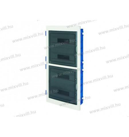 ec63572-72-modulos-gipszkartonba-sullyesztheto-lakaseloszto-fust-szinu-ajtoval