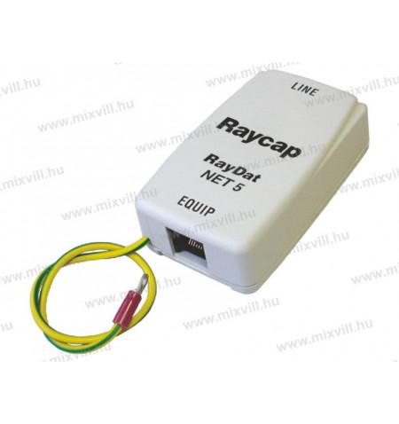 Raycap_Raydat_NET5_Cat5_tulfeszlevezeto_Un-5V-In-300A_Imax-1kA_Up-35V-706022