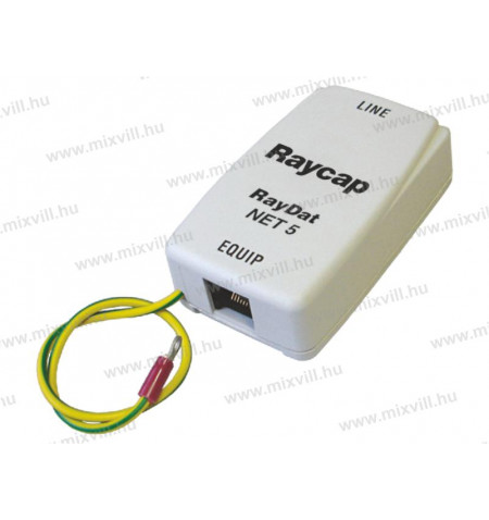 Raycap_Raydat_NET5_Cat5_tulfeszlevezeto_Un-5V-In-300A_Imax-1kA_Up-35V-706022