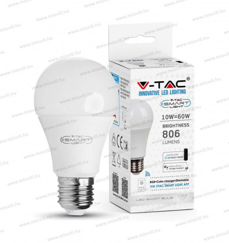 V-TAC_10W_SKU2751_SMART_WIFI_RGB+WW+CW
