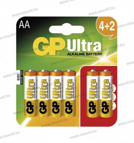 GP-ultra-ceruzaelem-alkali-lr6-B1921MM