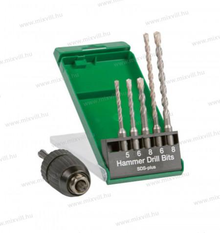 Hikoki 751030_SDS-plus-furoszar-keszlet-tokmány-adapter