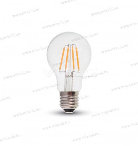 V-TAC-SKU-287-LED-lampa-izzo-E27-gömb-A60-6W-2700K-meleg-feher-Samsung-Chip