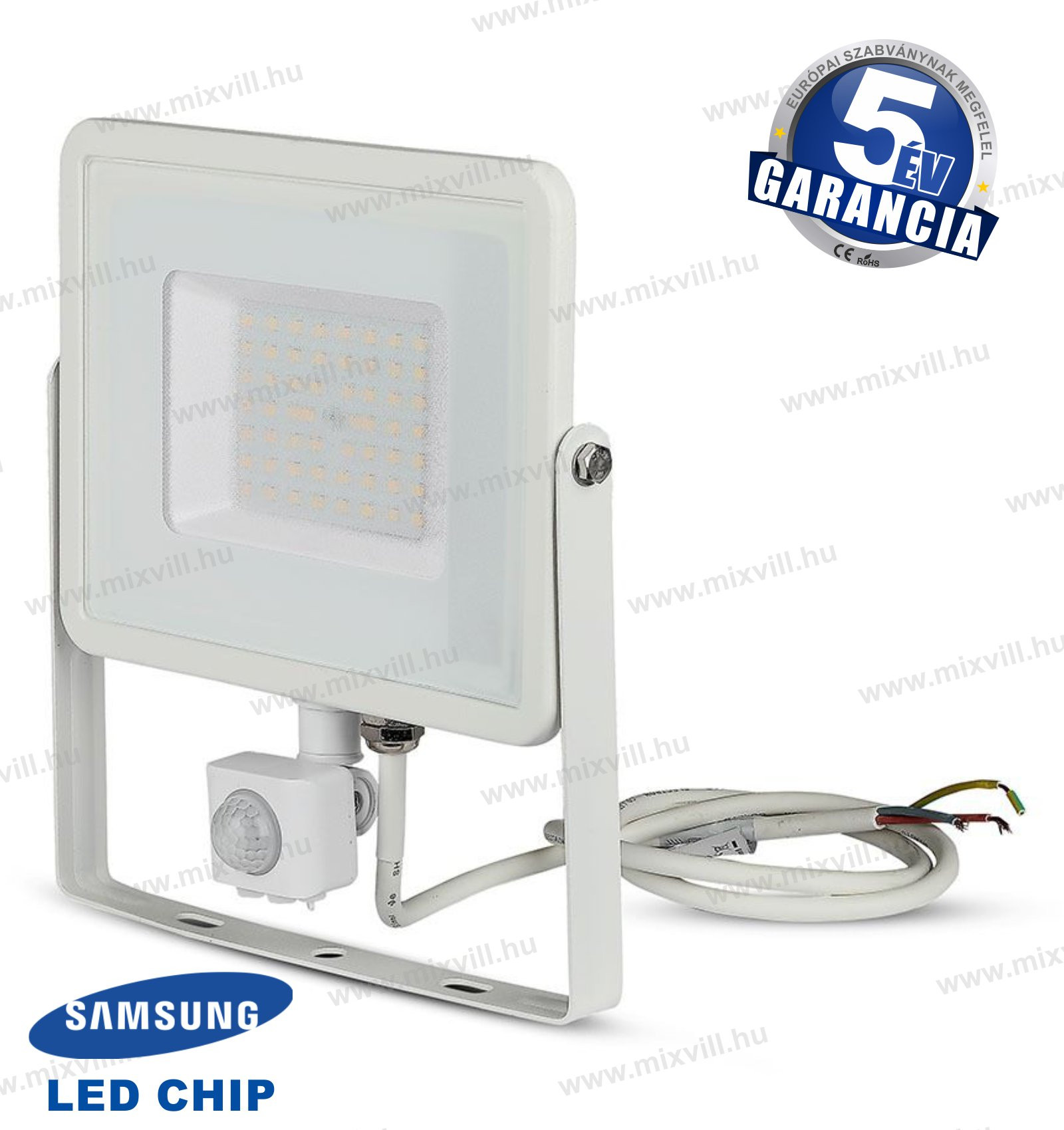 V-TAC-SKU-467-mozgaserzekelos-LED-reflektor-50W-4000K-feher-Samsung-chip