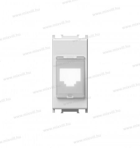 KM38pw-modul-porvedo-adapter-keyston-1-modulos-feher-