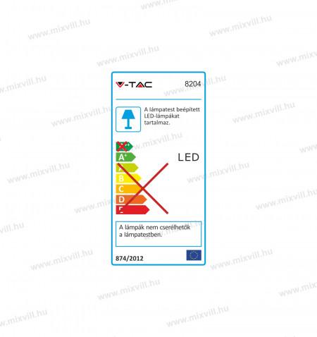 V-TAC-SKU-8204-belteri-oldalfali-led-lampa-12W-meleg-feher-3000K-IP20-fekete