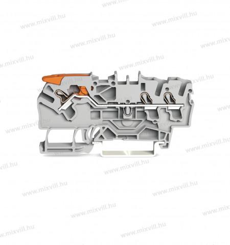 WAGO_2102-1301-Topjob-3-vezetekes-atmeno-sorkapocs-mukodteto-karral-24A-szürke